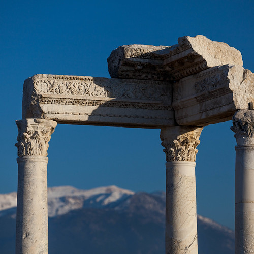 Tempel Laodicea; copyright 2013: Georg Berg