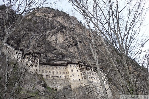 Sumela Monastery in Winter