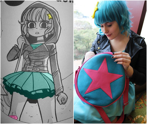 Ramona Flowers Cosplay Collage