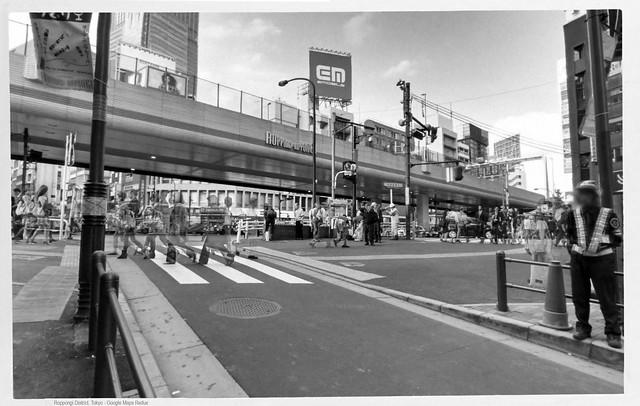 Roppongi District, Tokyo - Google Maps Redux