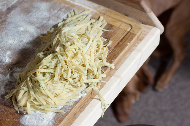 pasta with dried ramps, pasta with dehydrated wild leeks, what to do with dehydrated leeks, what to do with dried ramps, ramp recipes, wild leek recipes