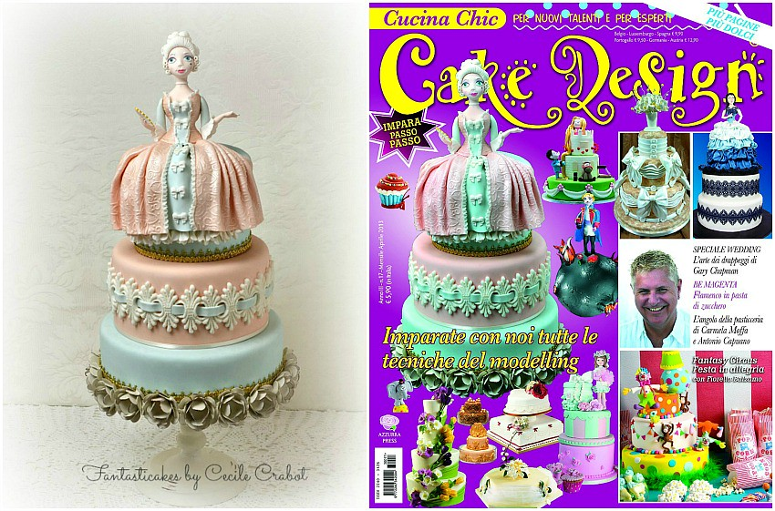 Madame de Pompadour Cake , cover magazine - Download Photo ...