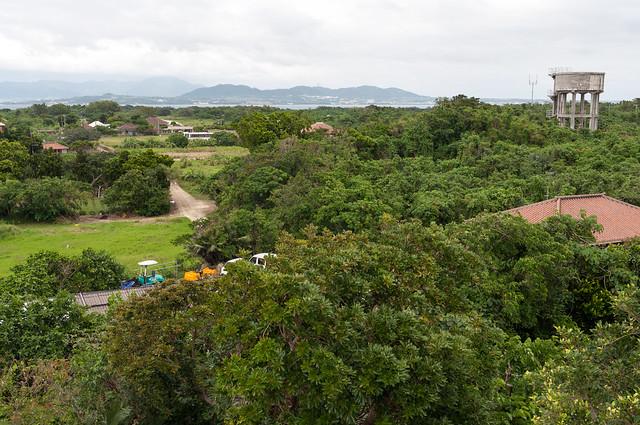 竹富島 展望台からの眺め