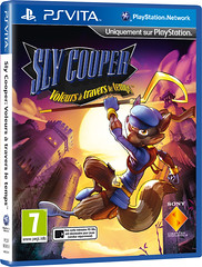 Sly Cooper : Voleurs à travers le Temps - Packshot PS Vita