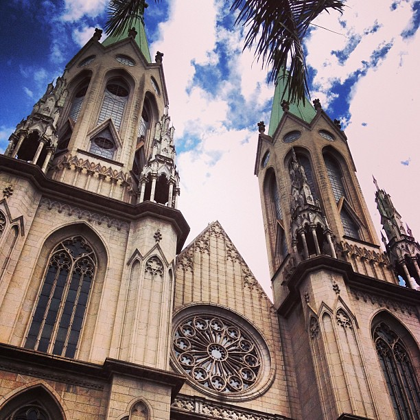 Sé Cathedral #catedral #cathedral #se #sampa #saopaulo #church #igreja
