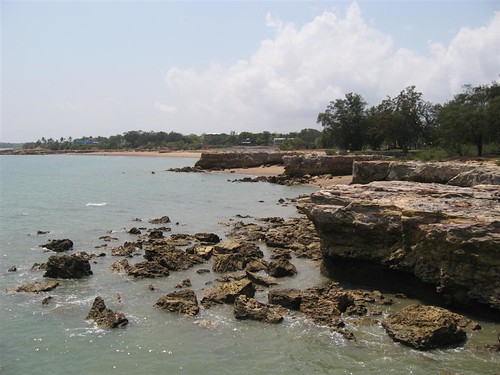 Nightcliff at low tide