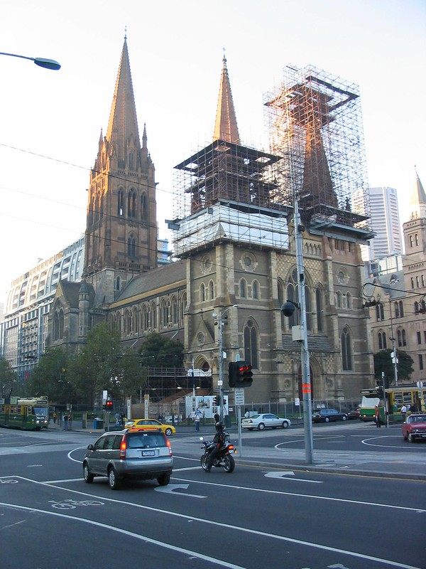 St Paul's Cathedral, Melbourne, April 2003