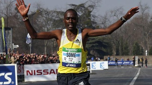 Peter Some - Maratón de Paris