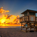 Lifeguard-Tower-at-Riviera-Beach-Singer-Island by Captain Kimo