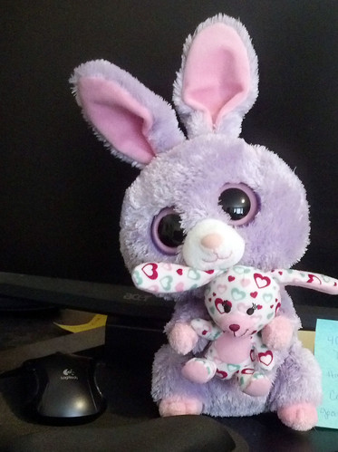 The bunny has a bunny
