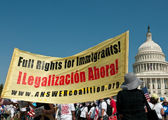 Time Is Now Immigration Rally in DC