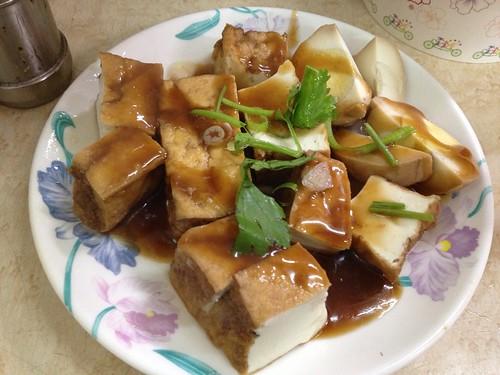 油豆腐、魯蛋