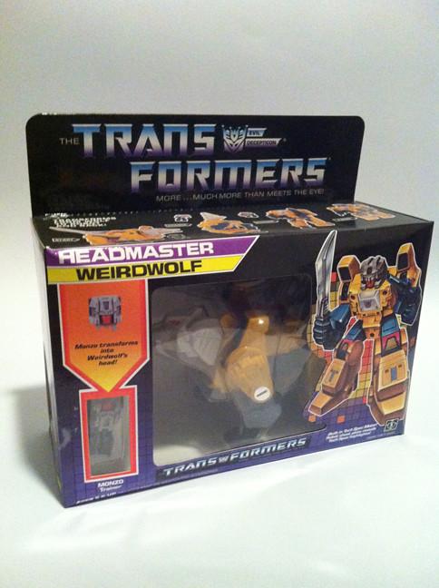 Transformers Re-issue Weirdwolf Headmaster - SOLD 8644366539_2466b98c28_b