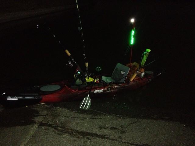 Lighting kayak fishing texas fishing forum for Kayak lights for night fishing