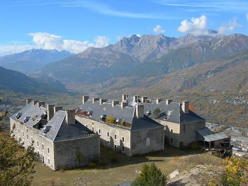 Les fortifications du 17ème siècle de Vauban à Briançon, FRANCE