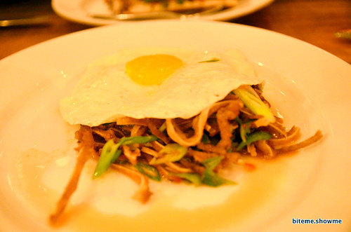 Animal - Pig Eat, Chili, Lime, Fried Egg