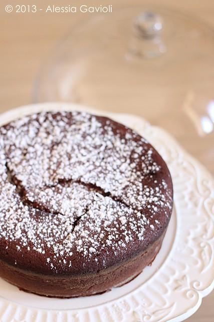 torta al cioccolato e panna acida 2