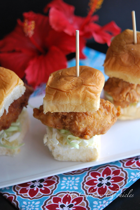 Crispy Fish Sliders on Kings Hawaiian Rolls