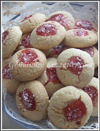 reçelli kurabiye 1