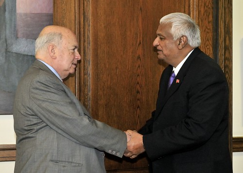 OAS Secretary General Receives Foreign Minister of Trinidad and Tobago