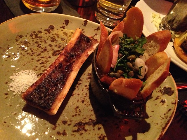 Roasted beef marrow and oxtail jam - Comme Ca