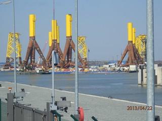Windkraftanlage - Unterbau Offshore