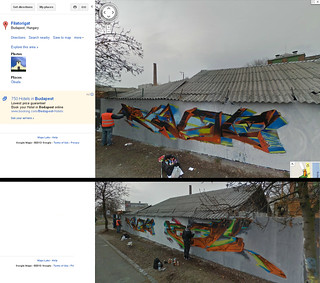 Google streetview featuring the AFX crew /Kast & Fork/