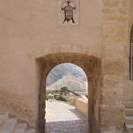 Door way, Castle Alicante