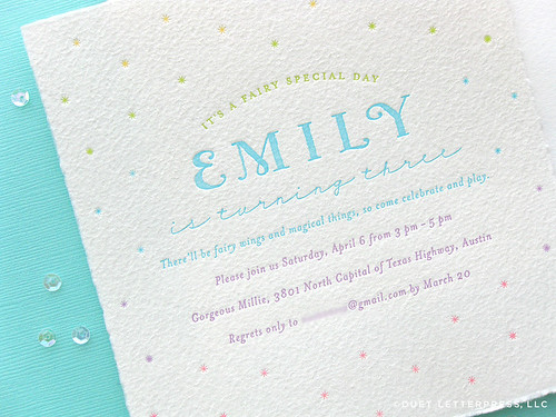 em's third birthday invites