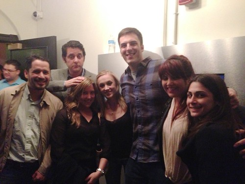 Loreana S. Gonzalez Lazzarini and Comedians from Chelsea Lately  at LivingSocial