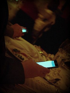 Texting while wine-ing