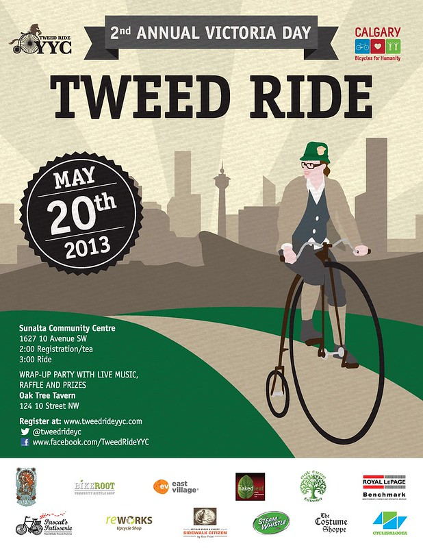 2nd Annual Victoria Day Tweed Ride