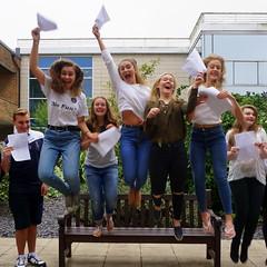 Exams - Jumping for joy