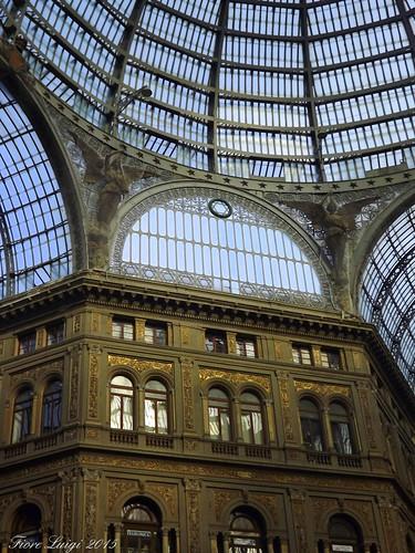 Galleria Umberto I Visuale dell'interno