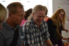 Leif Martinsson, Beroendecentrum och Kent Nylander, Värmlands Brukarråd. Foto: Susanne Boman
