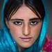 Afghan fteenage girl with nice eyes, Badakhshan province, Khandood, Afghanistan by Eric Lafforgue