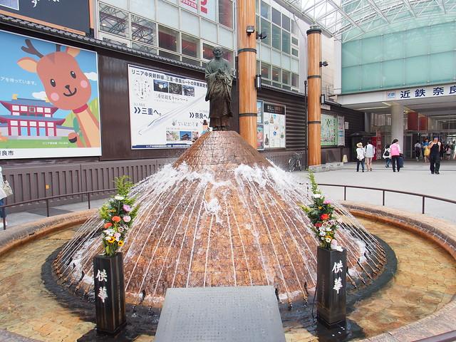 奈良行基菩薩雕像