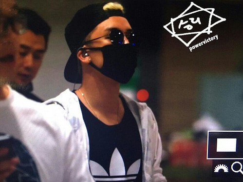 Big Bang - Incheon Airport - 15jun2015 - Power Victory - 01