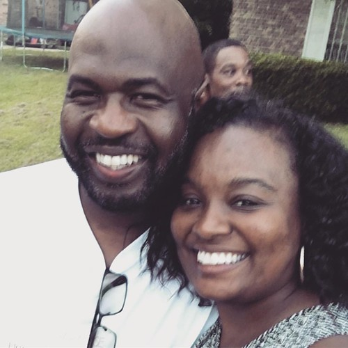 My cousin (brother)- my Day 1 down on Rice Street in Mt Vernon... Ronald Wayne Smith #bigcuz #bamaborn #205