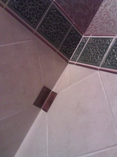 Commercial ceramic tile designs