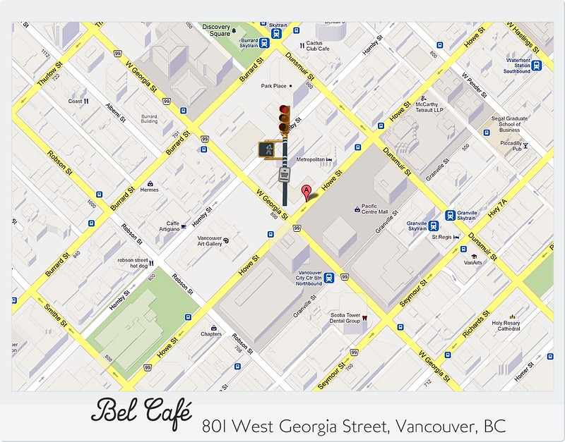 Bel Cafe Maps