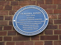 Photo of Claudia Jones blue plaque