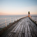 Whitby Pier by tricky (rick harrison)