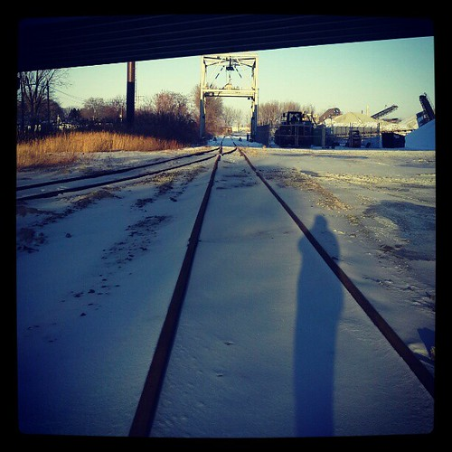 Nothing #erie #eriepa #traintracks #rails