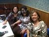 Mary Plazas, Liliana Romero y Ana León