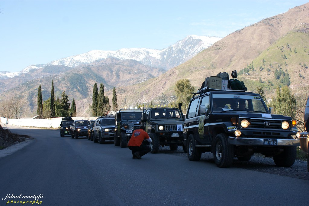 Muzaffarabad Jeep Club Neelum Snow Cross - 8468276687 c0afcfa38c b
