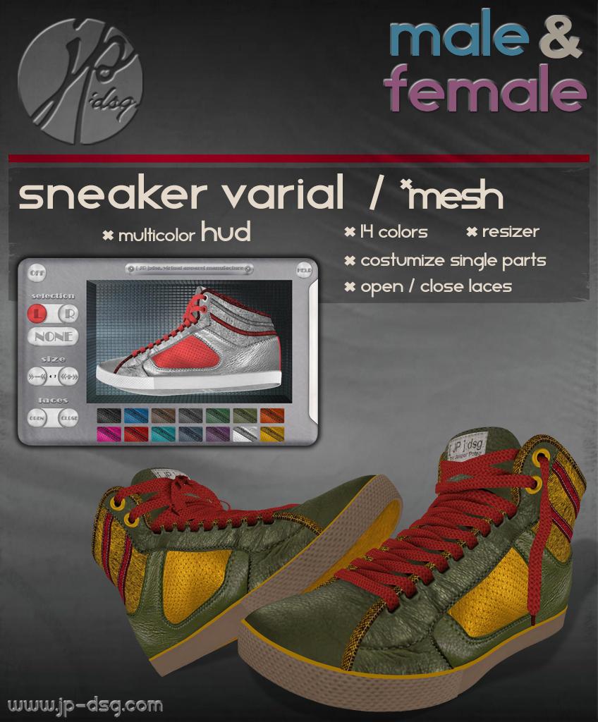 [ JP ]:dsg. Sneaker Varial / *mesh