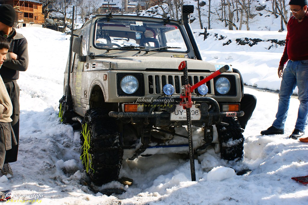 Muzaffarabad Jeep Club Neelum Snow Cross - 8472091292 a737eaef35 b