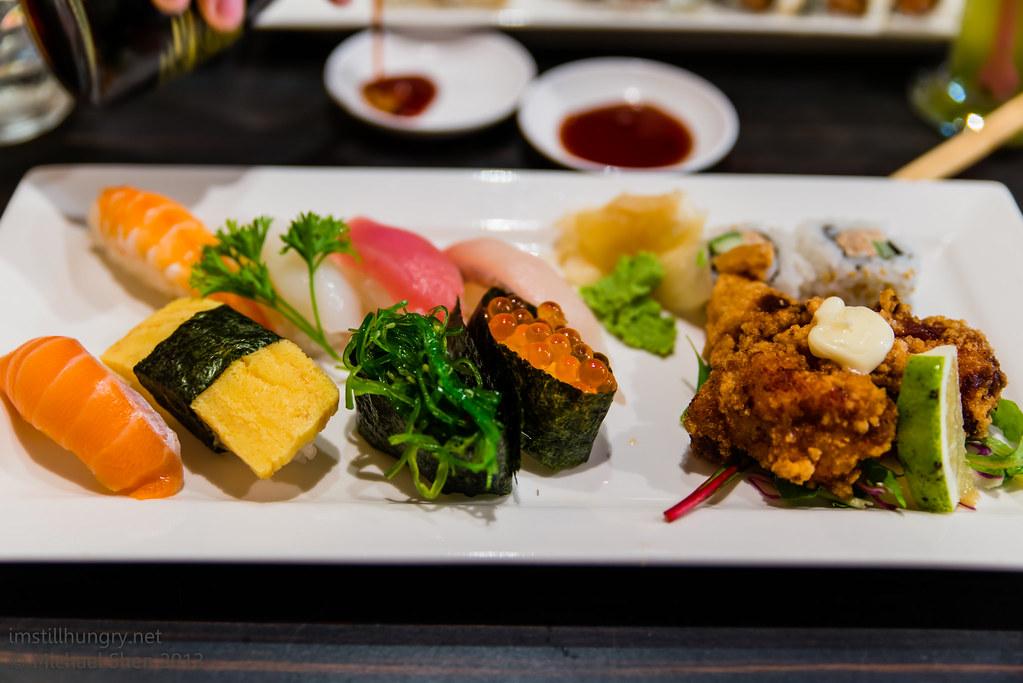 Sushi Samurai - sushi platter