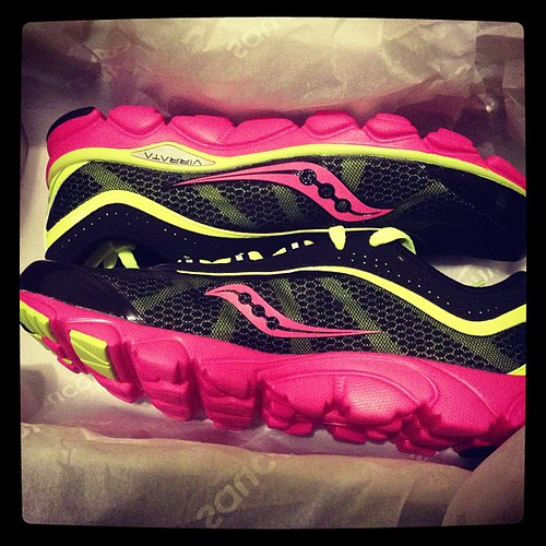 Happy Valentine's Day to me! Love Saucony #findyourstrong #virrata